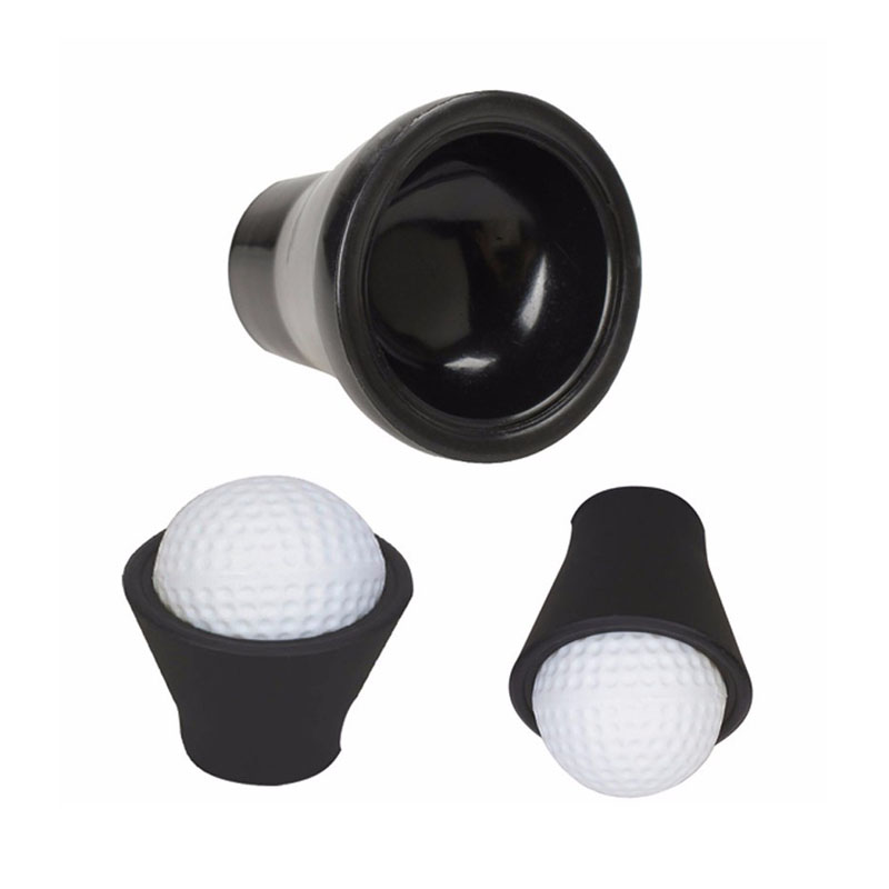 3pcs Golf Balls Pick up Rubber Suction Cup Picker for Putter
